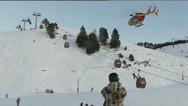 Francia, funivia in panne: 160 sciatori evacuati in quota