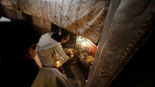 Betlemme, Messa di mezzanotte dopo le polemiche