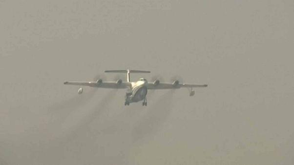 أكبر طائرة برمائية في العالم