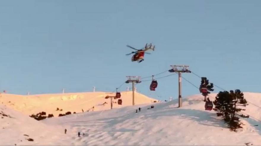 Fransa'da tatilciler dağda mahsur kaldı