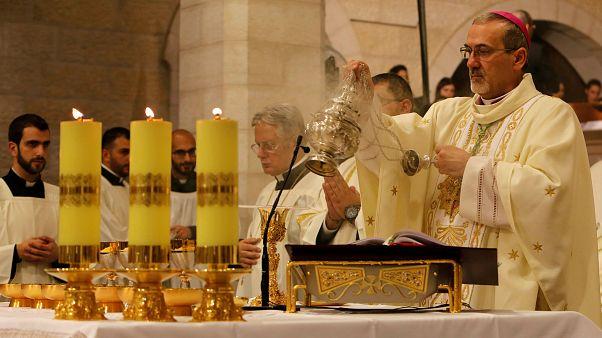 Christmas Eve Mass: Bethlehem's Church of the Nativity hosts pilgrims