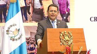 Jimmy Morales, presidente del Guatemala