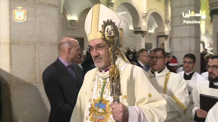 Jerusalén, protagonista de la misa del gallo en Belén