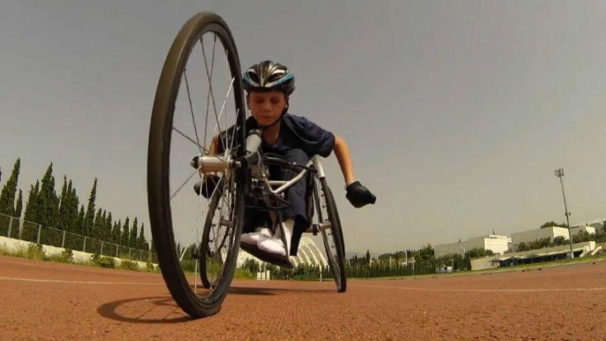 Najib, fuggito dalla guerra per diventare atleta