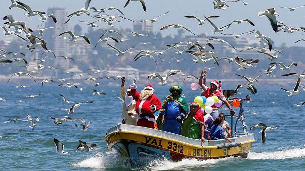 Natale in Valparaiso, Cile