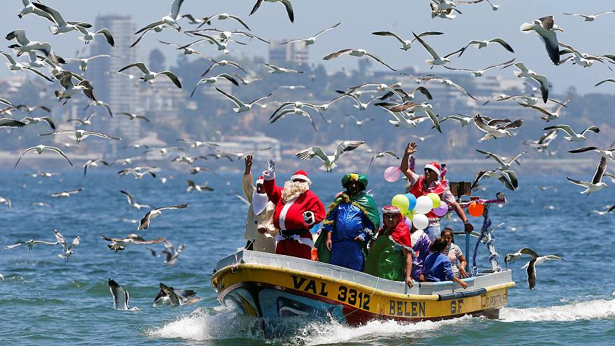 Christmas around the world: in pictures