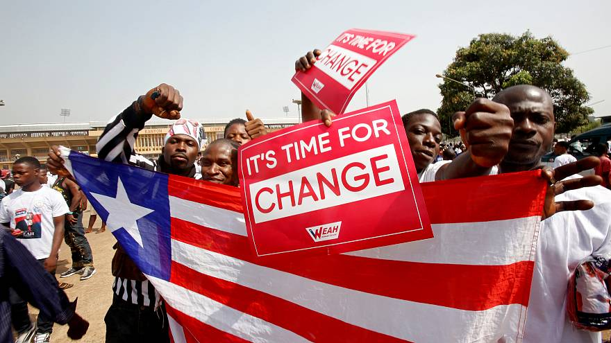 Weah au Liberia : l'ancienne star du PSG bientôt président?