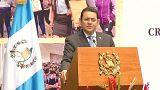 Guatemalas Präsident Jimmy Morales (Archivfoto)