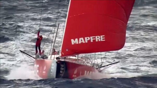 Volvo Ocean Race'te üçüncü ayak tamamlandı