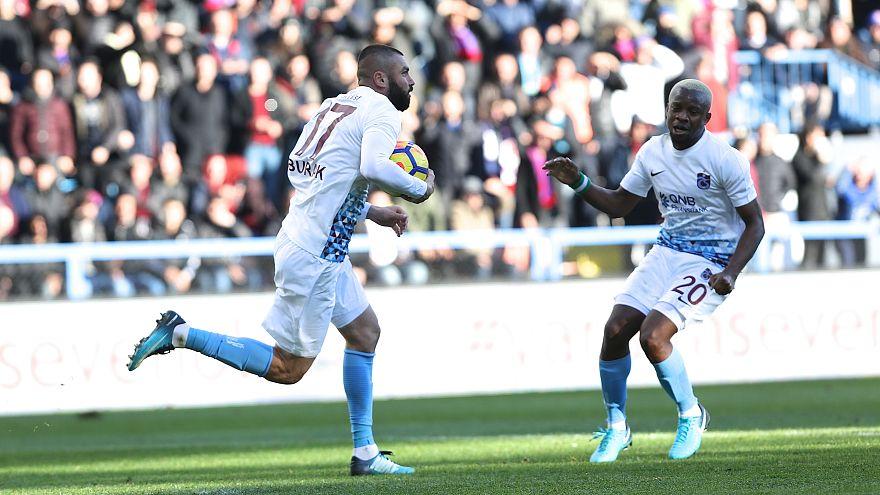 Trabzonspor son 7 sezonun en iyi ilk yarı performansını gösterdi
