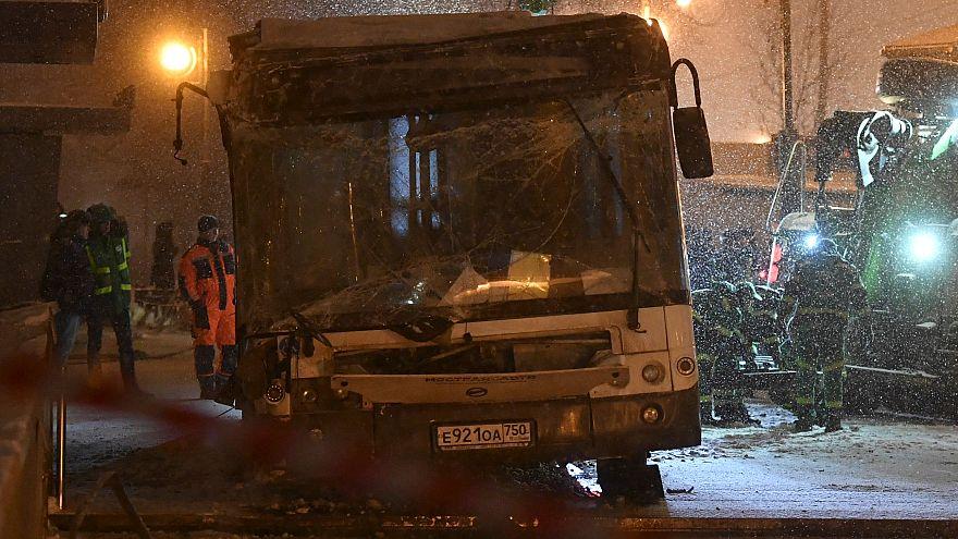 Москва: автобус съехал в подземный переход, 5 погибли
