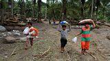 Nach Tropensturm Tembin auf den Philippinen