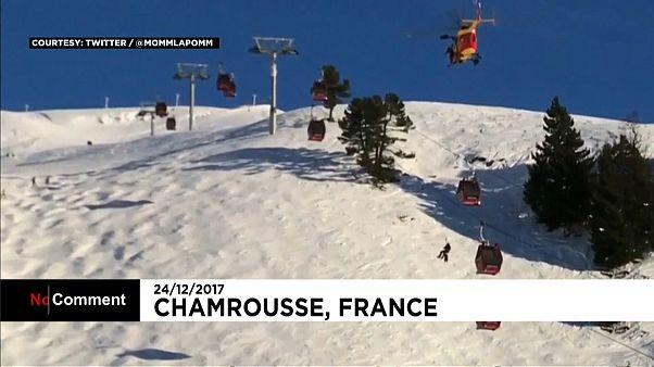 """Франция: """"ловушка"""" для лыжников"""