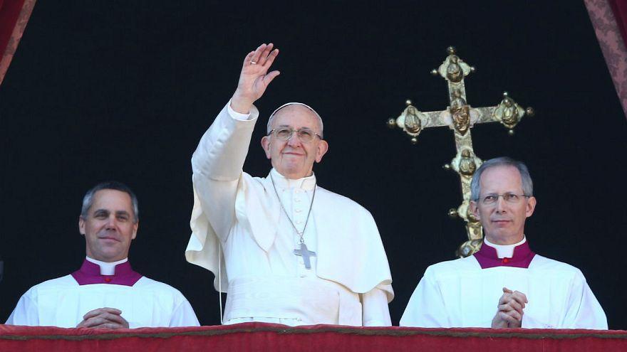 Papa'dan iki devletli çözüm için dua çağrısı