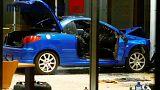 Berlin'de SDP binasına çarpan araçta polis kundaklamadan şüpheleniyor