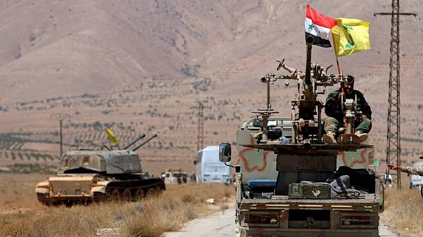 نیروهای دولتی سوریه و حزب الله لبنان