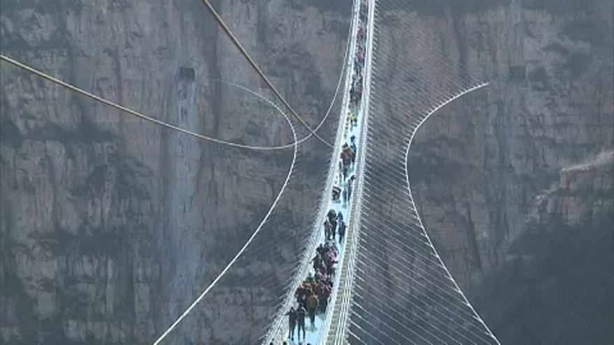 Η μεγαλύτερη γυάλινη γέφυρα του κόσμου