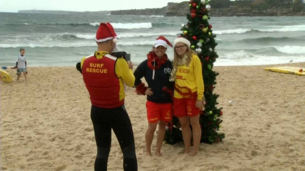 Navidad veraniega al otro lado del Globo