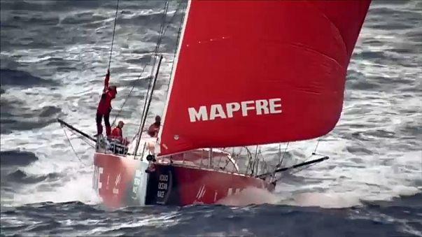 Mapfre ganha terceira etapa e reforça liderança da Volvo Ocean Race