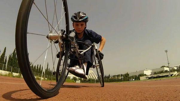 Suriyeli mülteci çocuklar spor yaparak hayata tutunmaya çalışıyor
