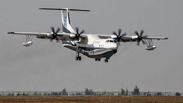 La Chine inaugure son avion amphibie géant