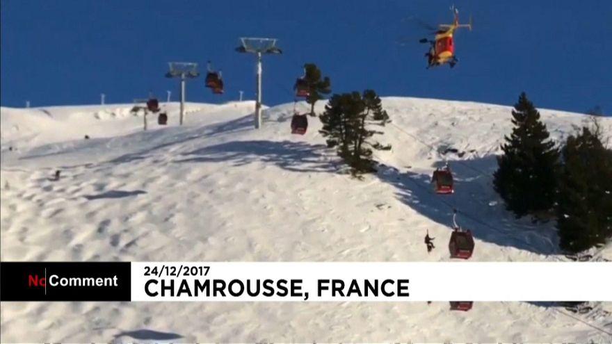 Évacuation vertigineuse à Chamrousse