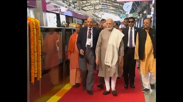 Nouvelle ligne de métro à New Delhi