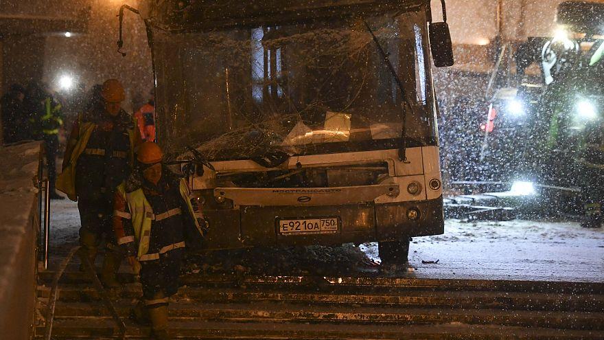 Μόσχα: Πέντε οι νεκροί από δυστύχημα με λεωφορείο