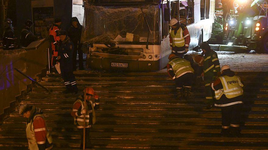 Un bus fonce sur des passants à Moscou : 4 morts