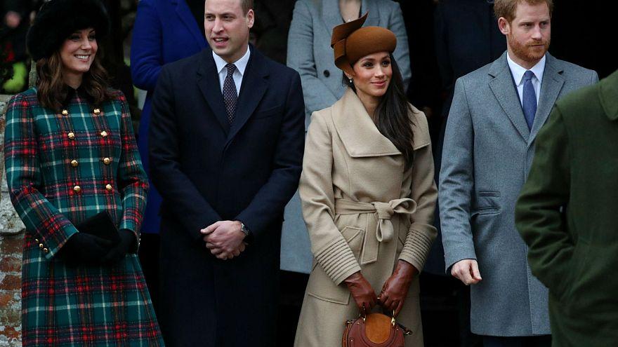 Misével ünnepelte a karácsonyt a brit királyi család