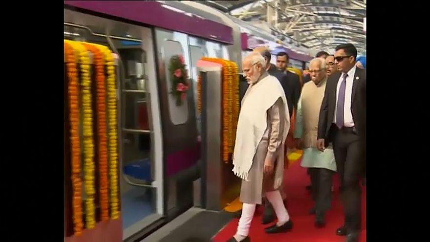 Nuova Dehli: al via la metropolitana automatizzata