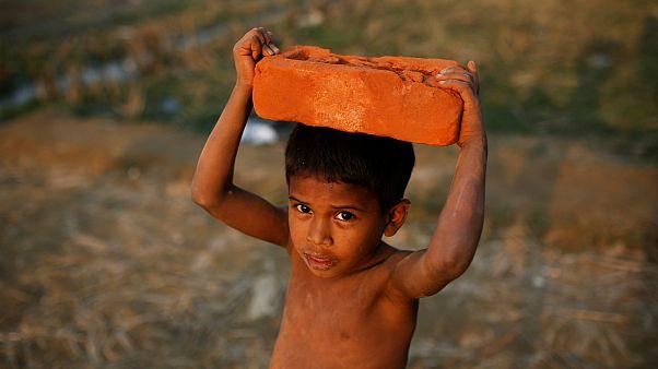 کودکی از اقلیت روهینگیا