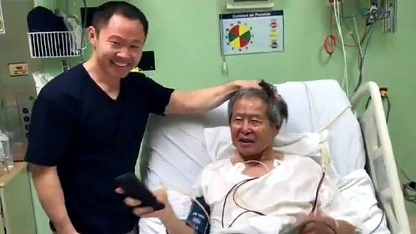 Fujimori's Christmas message fails to cheer protesters