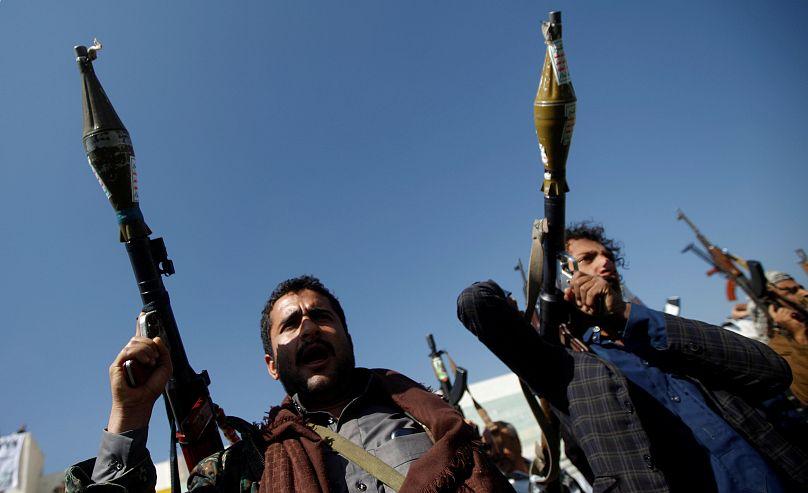 نیروهای حوثی یمن