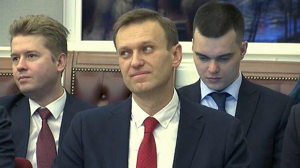 Navalny'nin başkanlık yarışına katılmasına müsade yok