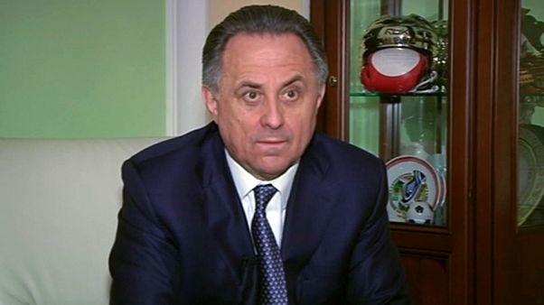 Vitali Mutko deja temporalmente la Federación Rusa de Fútbol