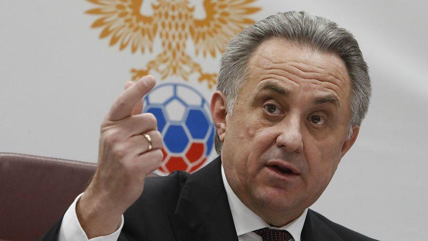 Rusya Futbol Federasyonu Başkanı Mutko görevinden geçici olarak ayrıldı