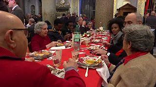 Roma: pranzo di Natale di solidarietà per 500 bisognosi