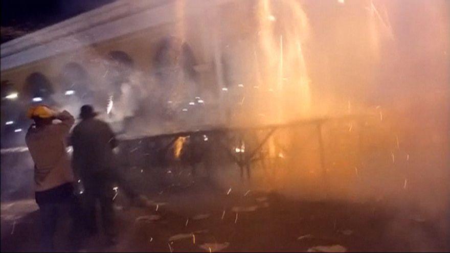 Kórházban ápolják a tűzijáték részvevőit