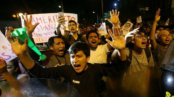Protests continue over the pardon of Peru's jailed ex-president Fujimori