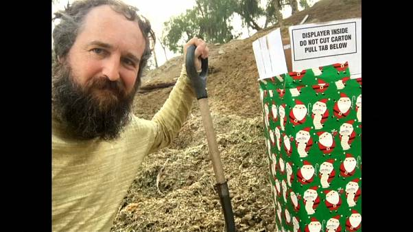 Robert Strong claims he sent the box of horse manure