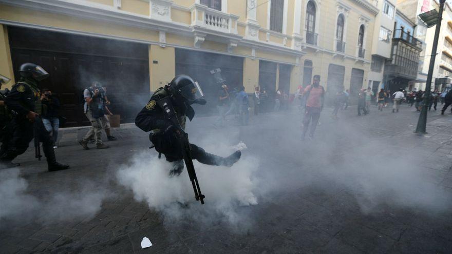 Peru'da Fujimori'nin affedilmesi protestolara neden oldu