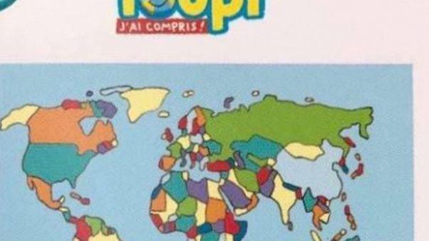"""فرنسا تسحب مجلة للأطفال من الأسواق ورد فيها إسرائيل """"ليست دولة حقيقية"""""""