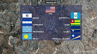 """Israel """"in talks with more than 10 countries"""" on Jerusalem recognition"""
