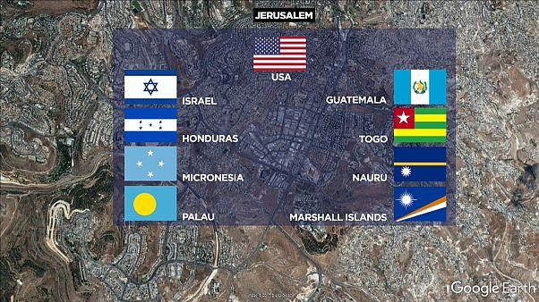 Israele: altri dieci Paesi spostano l'ambasciata?