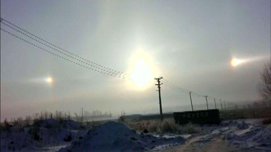 Τρεις ήλιοι στον κινεζικό ουρανό (!)