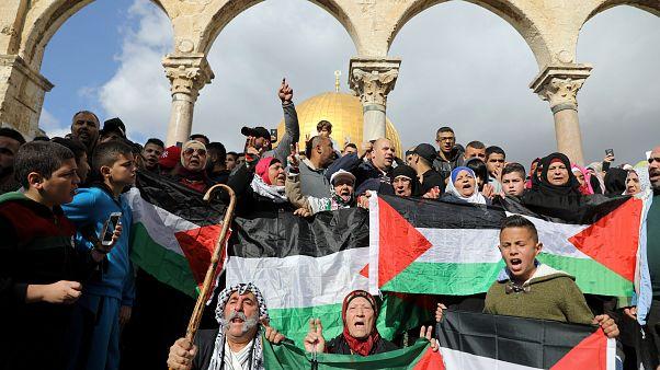 Protest in Jerusalem
