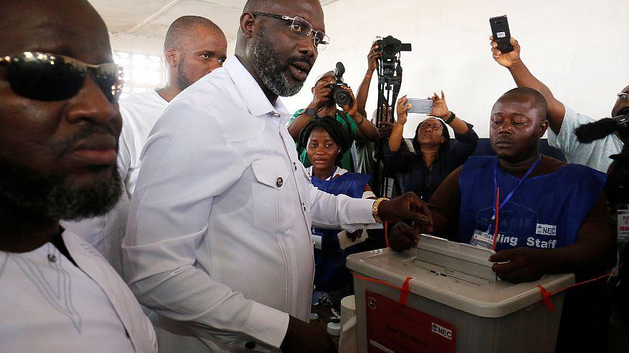 Liberya halkı devlet başkanını seçmek için sandık başına gitti