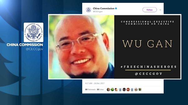 """Ocho años de cárcel para un disidente chino por """"subversión"""""""