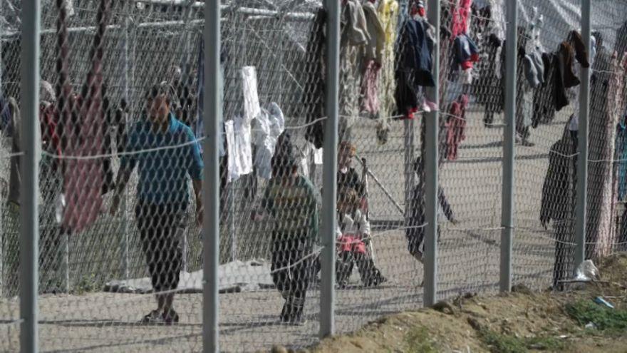 لمحة عن حياة اللاجئين في جزيرة كيوس اليونانية